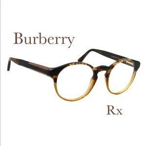 Burberry 🖤 Round Eyeglass Frames Tortoise Shell